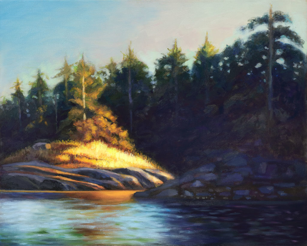 Smugglers Cove Evening (study)
